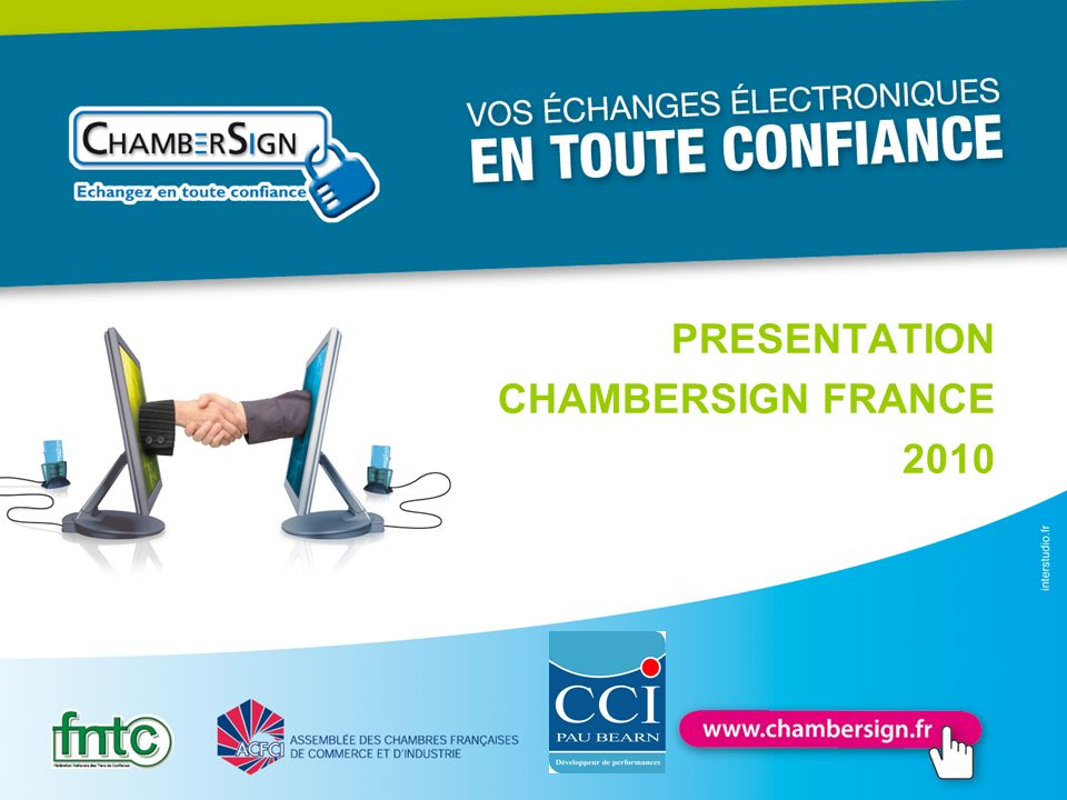 PRESENTATION CHAMBERSIGN FRANCE 2010