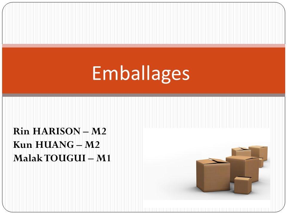 SOMMAIRE Introduction Innovation et développement durable Niveaux demballages Emballages spécifiques aux produits Les unités logistique (UL) La traçabilité Règlementation