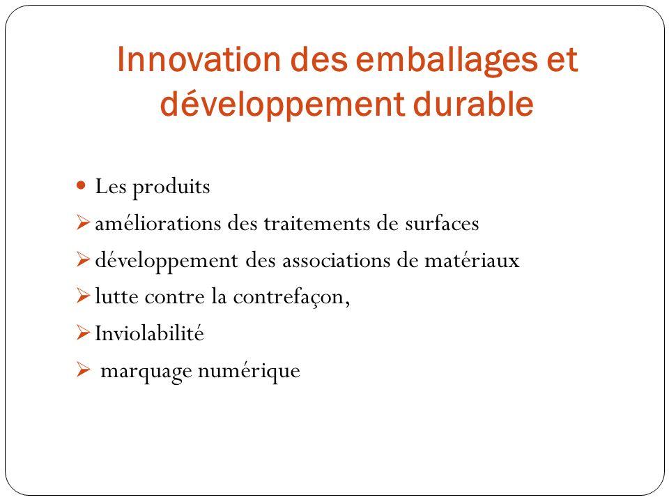 Les produits améliorations des traitements de surfaces développement des associations de matériaux lutte contre la contrefaçon, Inviolabilité marquage