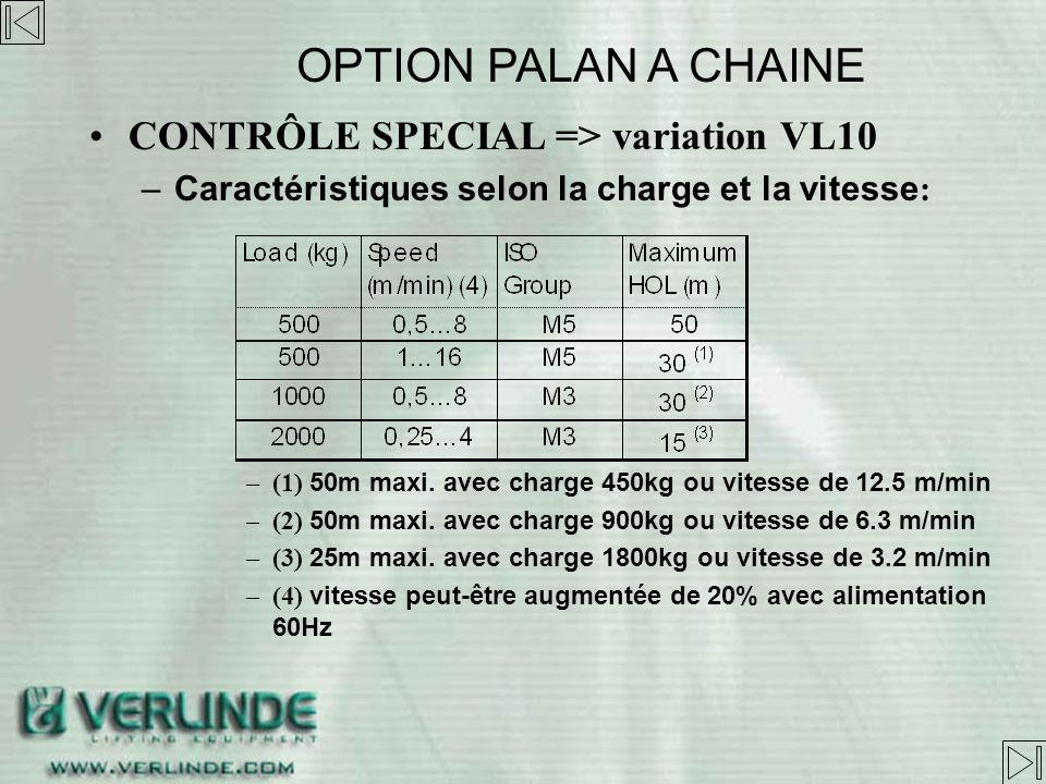 CONTRÔLE SPECIAL => variation VL10 –Caractéristiques Alimentation: 380V – 500V 50/60 Hz Tension de commande: 48, 115 and 230Vac Modes de contrôles: EP