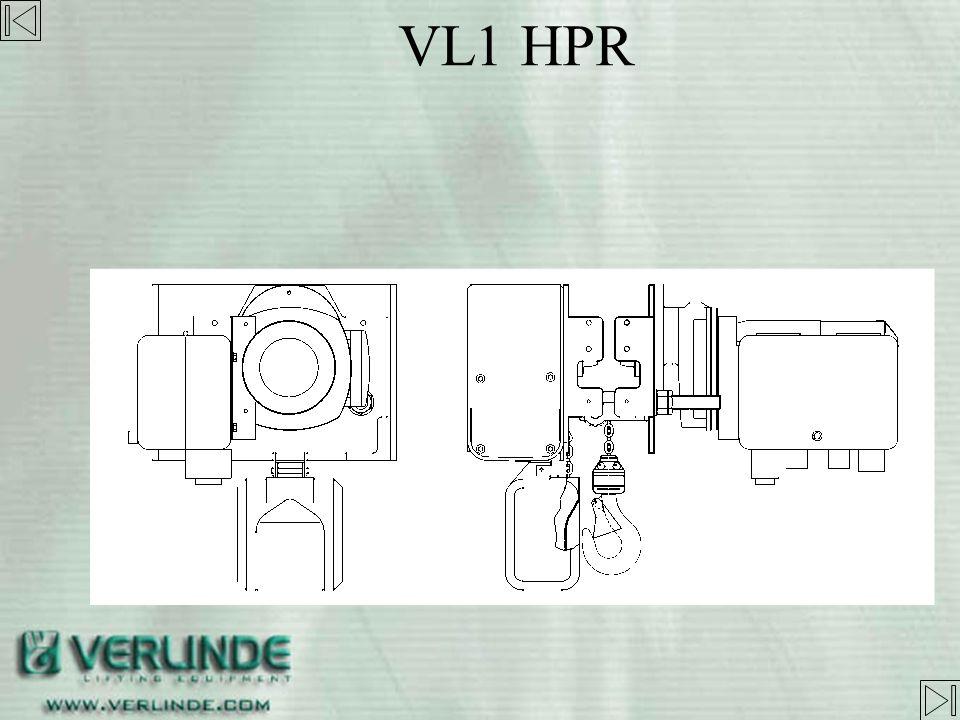 - Valable pour toute la gamme VL - Possibilité davoir différents déports pour le VL2-5 et VL10 VL HPR