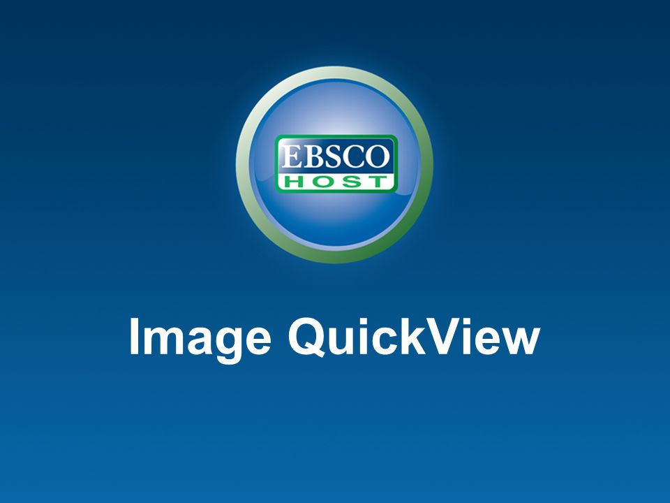 Introducing… EBSCOhost 2.0 EBSCOhost Juin 2008