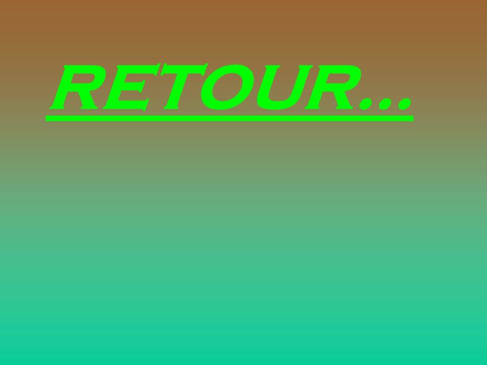 RETOUR…