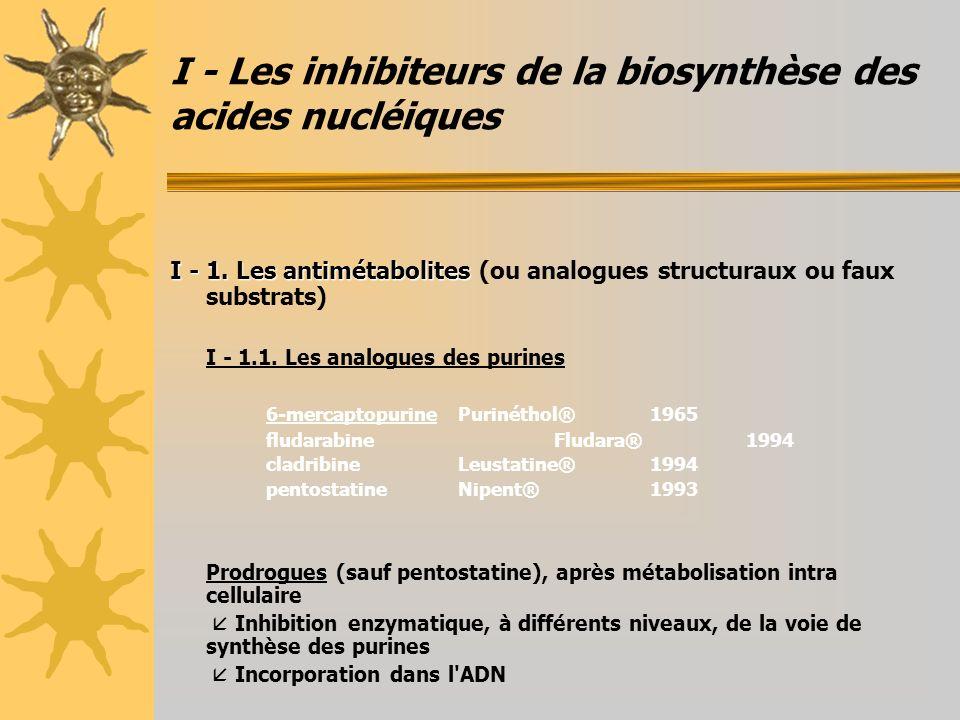 III - Les substances interagissant avec les protéines III - 1.