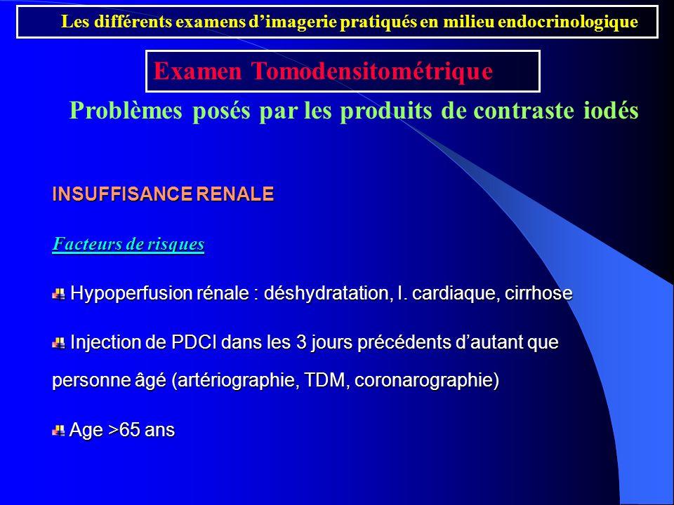 INSUFFISANCE RENALE Facteurs de risques Hypoperfusion rénale : déshydratation, I. cardiaque, cirrhose Hypoperfusion rénale : déshydratation, I. cardia