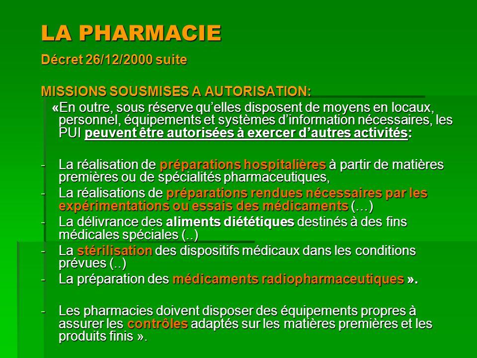 Unité de préparation centralisée des chimiothérapies 6.