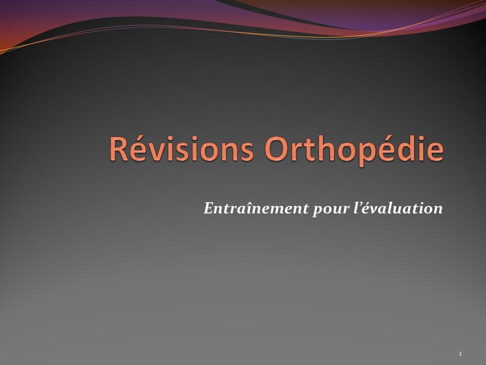 Soins infirmiers en orthopédie Définir la Coxarthrose Rhumatisme chronique dégénératif non inflammatoire localisé à la hanche.
