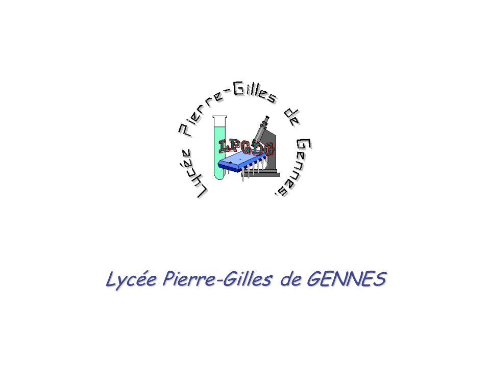 1 PRESENTATION DU RESEAU LYCEE PIERRE-GILLES DE GENNES Lycée Pierre-Gilles de GENNES