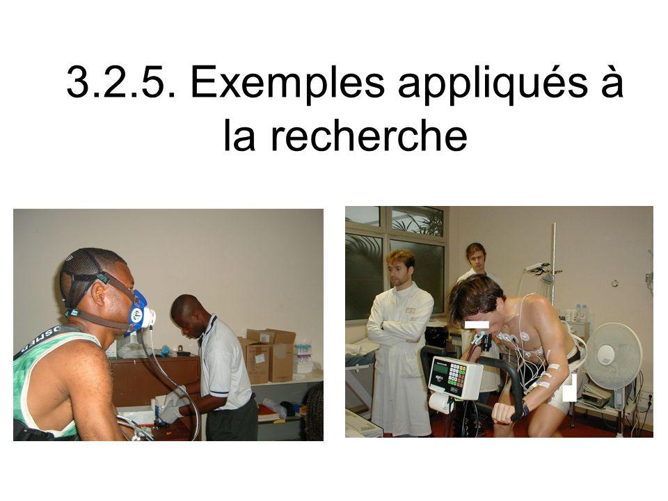 3.2.5. Exemples appliqués à la recherche