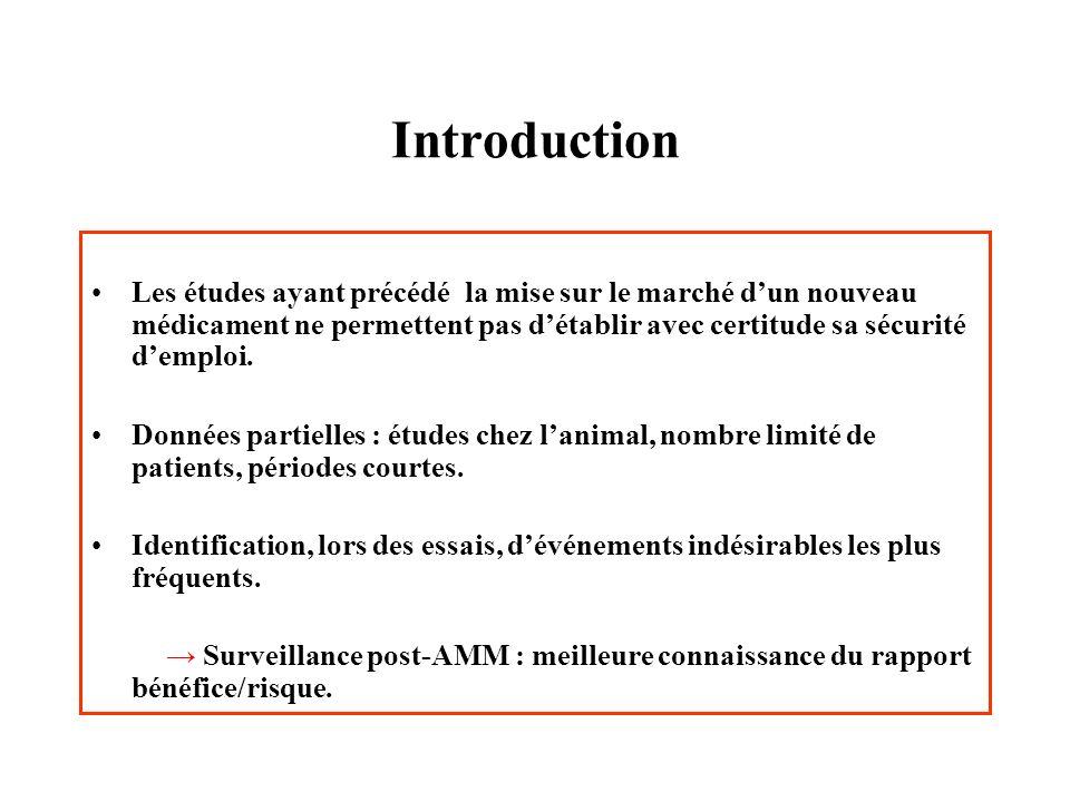 Notifications des anticancéreux en France Classes danticancéreux - Antimétabolites (n=1111) - Alcaloïdes (n=895) - Alkylants (n=544) - Antibiotiques (n=384) - Autres (n=1187) Evolution - Régression : 59 % - Amélioration : 22 % - Décès dus à lEI : 2,5 % - Décès intercurrent : 2 % - Séquelles : 2 % - Inconnue : 10 % Notificateurs - médecins spécialistes : 88,7 % - médecins généralistes : 1,8 % - pharmaciens : 8,8 % - autres professionnels de santé : 0,7 %
