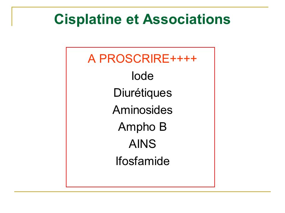 Les oxazaphosphorines Cl-CH 2 -CH 2 NH- CH 2 O - CH 2 N - P OCH 2 Cl-CH 2 -CH 2 N --- CH 2 O - CH 2 N - P OCH 2 Cl-CH 2 -CH 2 H N --- CH 2 O - CH 2 N - P OCH 2 Cl-CH 2 -CH 2 NH- CH O - CH 2 N - P OCH 2 S - CH 2 - CH 2 -SO 3 - Cl-CH 2 -CH 2 NH- CH O - CH 2 N - P OCH 2 OOH Cyclophosphamide Ifosfamide Trofosfamide Mafosfamide 4-hydroperoxycyclophosphamide