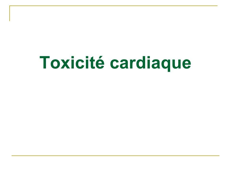 Toxicité cardiaque
