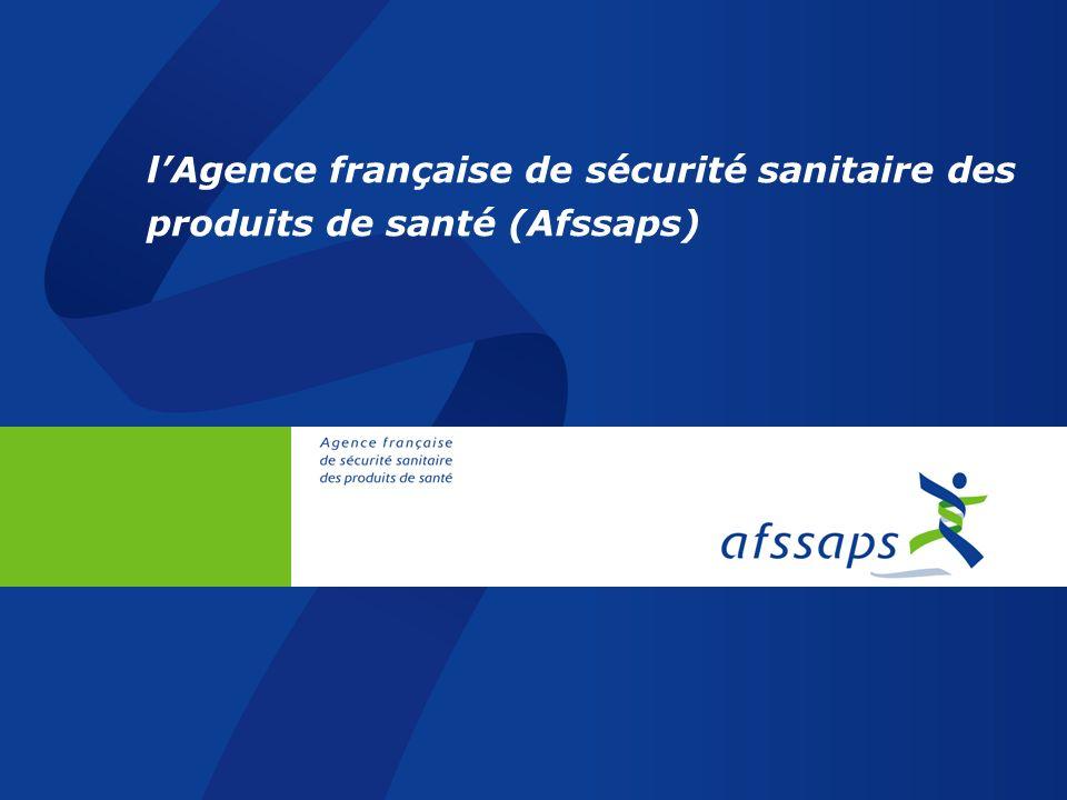 La Direction des laboratoires et des contrôles de lAfssaps : 3 sites en France PARIS LYON MONTPELLIER Site de Saint-Denis (61 agents) CONTRÔLE du sang, produits sanguins, cellules, médicaments issus des biotechnologies, allergènes, nutrition clinique, plantes, homéopathie PHARMACOPEE Site de Lyon (41 agents) CONTRÔLE des vaccins, sérums Site de Vendargues (98 agents) CONTRÔLE des médicaments chimiques, produits de thérapie génique, cosmétiques, dispositifs médicaux, biocides