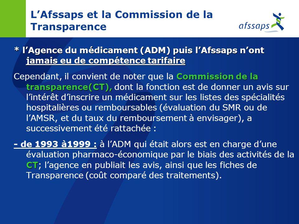 NB : LAfssaps nest pas compétente en matière de : Comité économique des produits de santé-CEPS Prix (la fixation du prix -pour les produits de santé r