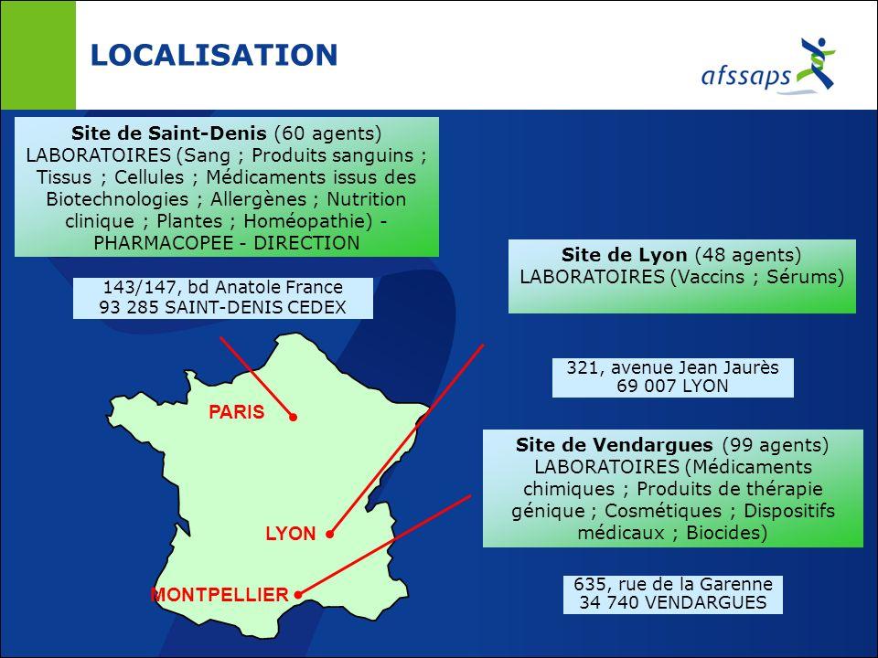 ACTIVITES DE CONTRÔLE DE LAFSSAPS