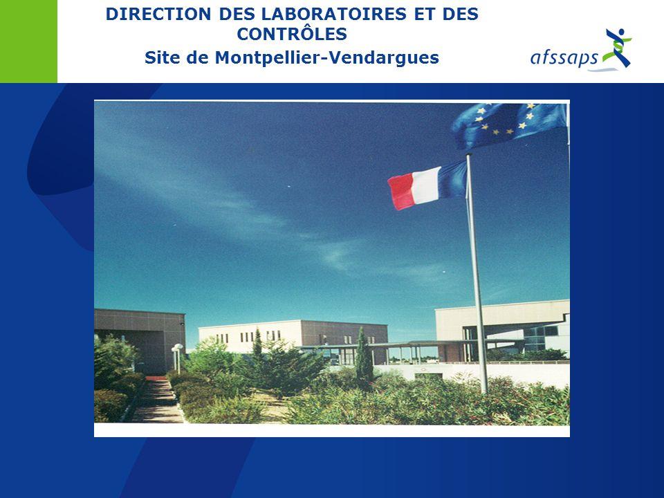 DIRECTION DES LABORATOIRES ET DES CONTROLES A. NICOLAS Coordinateur qualité DLC S. LEFRANCOIS Responsables qualité des sites de Saint-Denis, Lyon et M