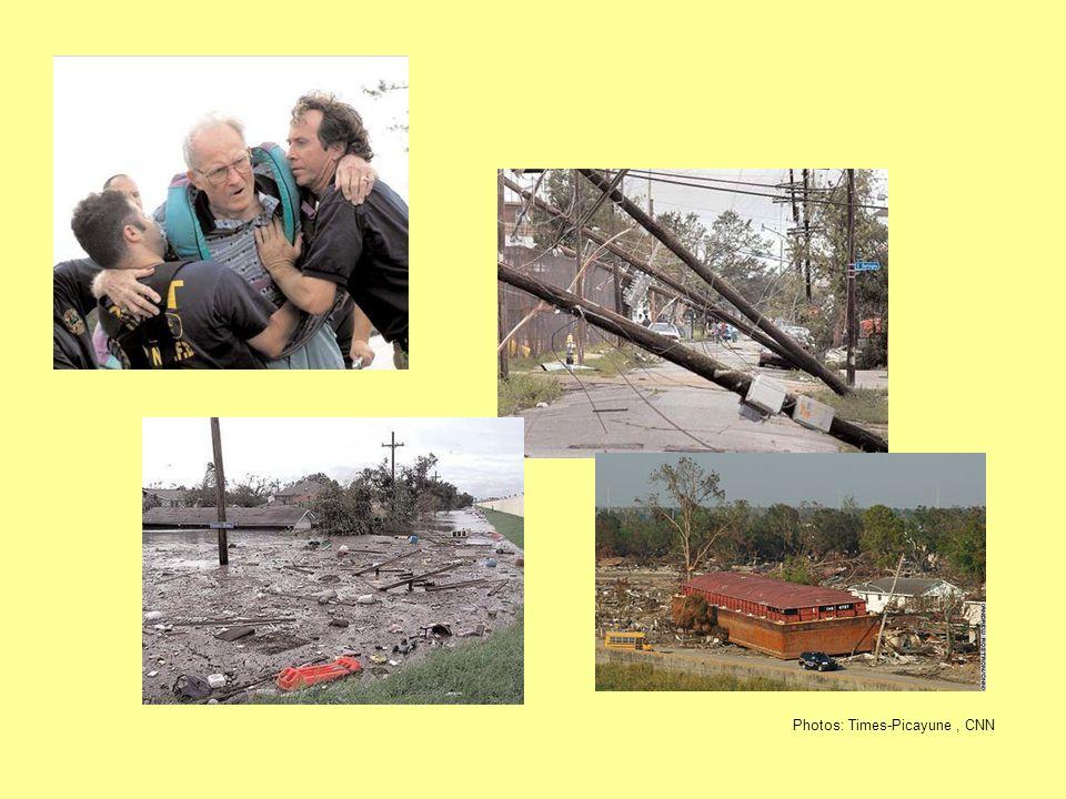 Photos: Times-Picayune, CNN