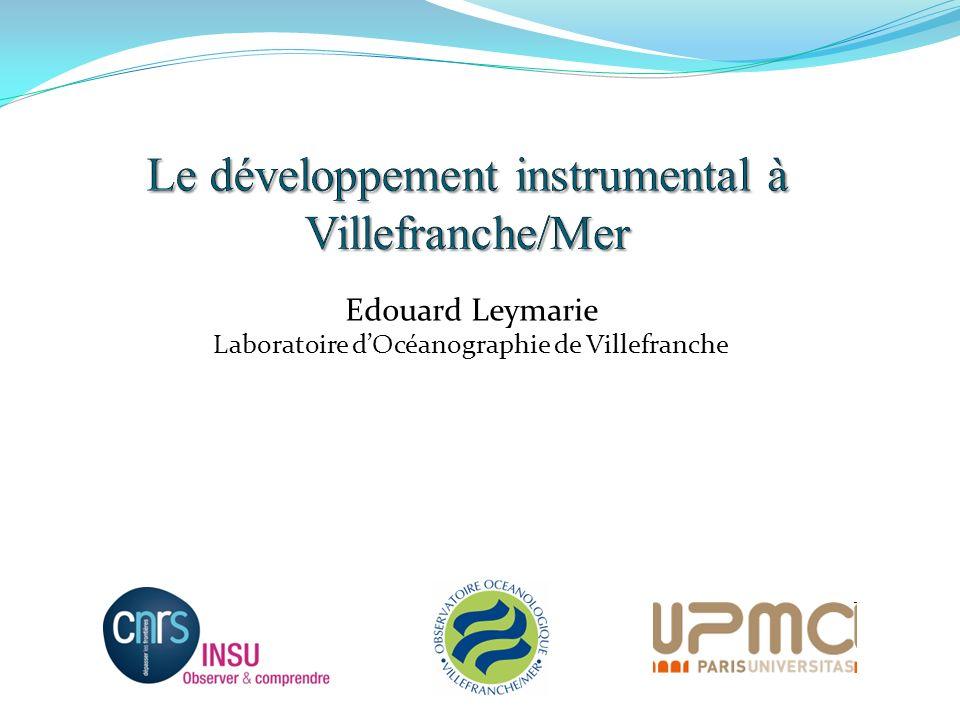 Edouard Leymarie Laboratoire dOcéanographie de Villefranche