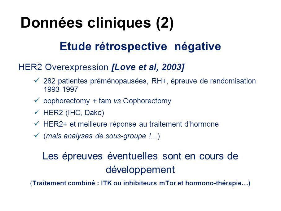 Rôle de HER2 et AIB1 dans la résistance hormonale