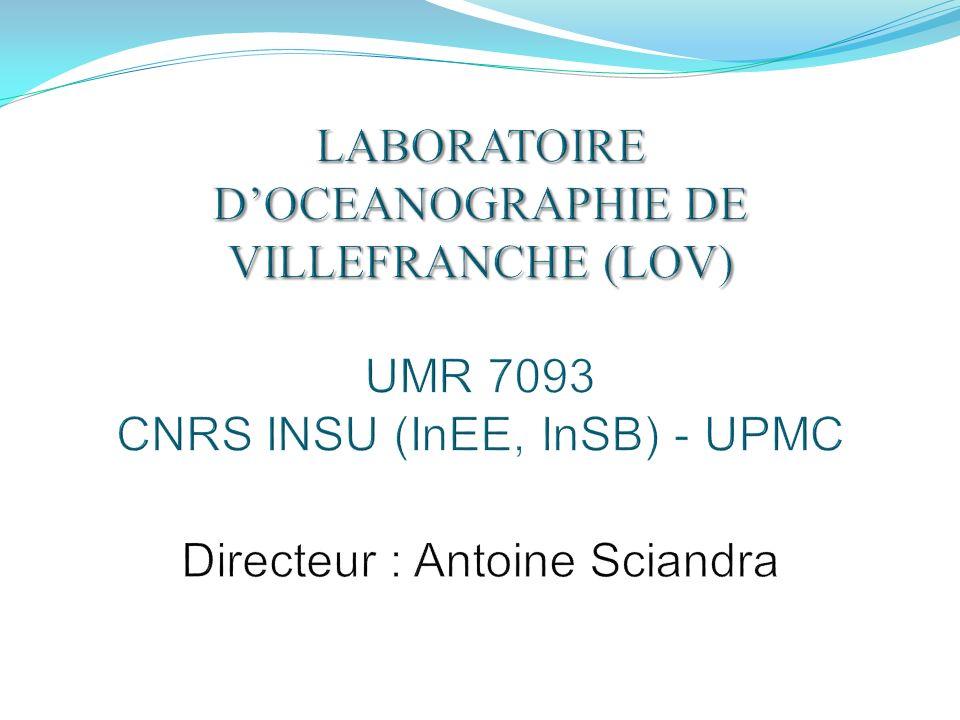 Les moyens R&D du LOV Accès à la Mer (Campagne, rade, sorties mensuelles large) Expertise dans les plateformes bouée et engins autonomes Expertise dans le traitement et linterprétation des données Expertise dans le développement instrumental Instruments dévelopés au LOV