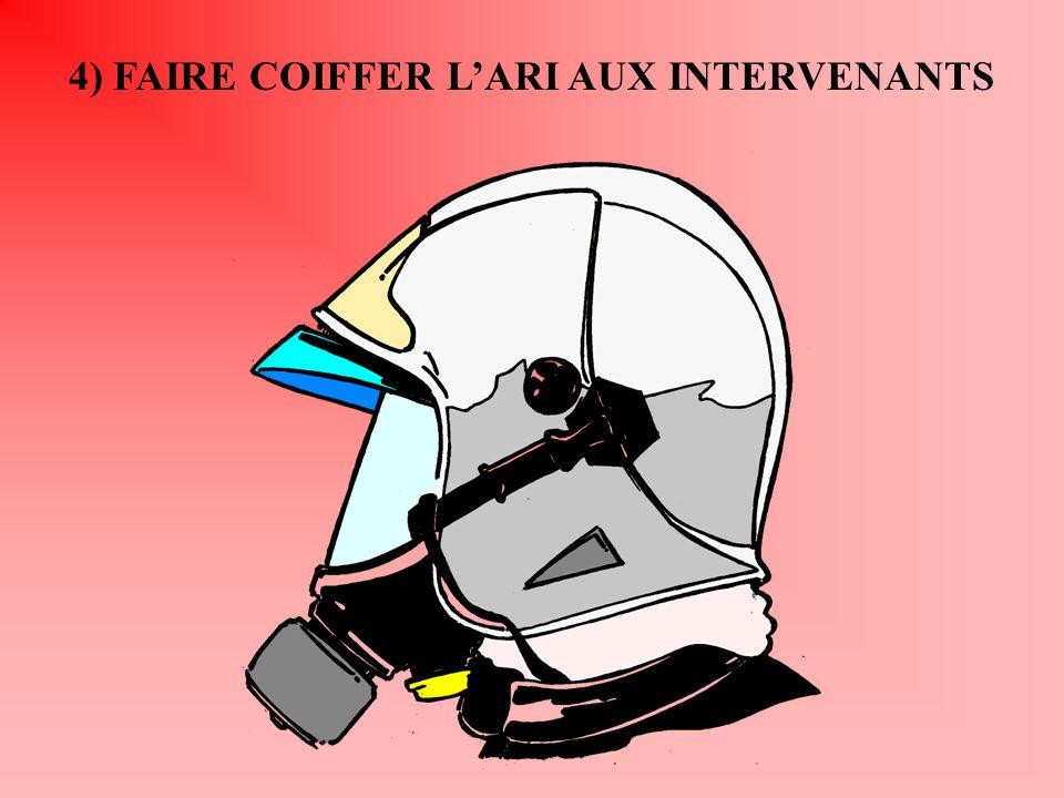 4) FAIRE COIFFER LARI AUX INTERVENANTS
