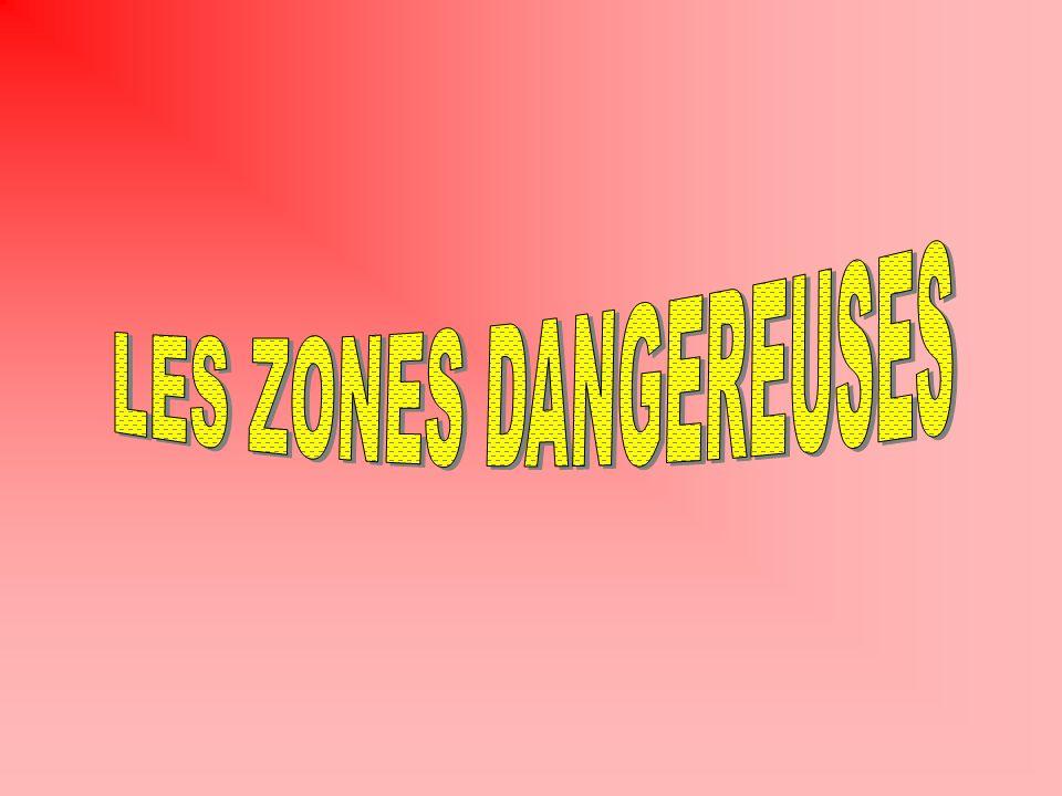 LES ZONES DANGEREUSES TORCHERE BOULE DE FEU : 10 M DE DIAMETRE PROJECTILES JUSQUÀ 30 M