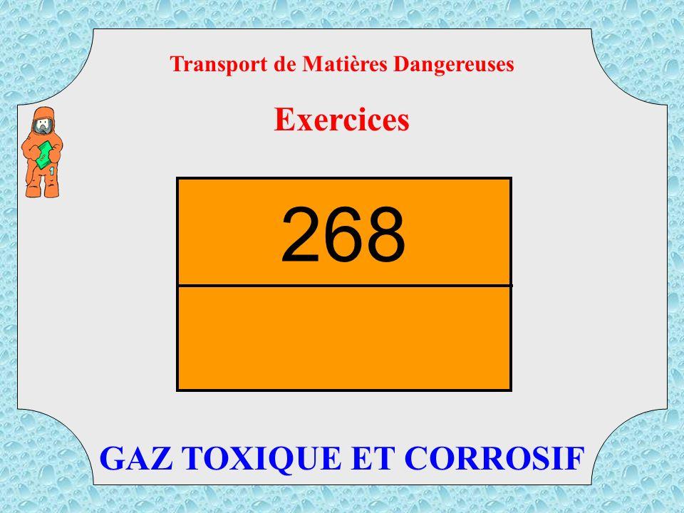 Transport de Matières Dangereuses Exercices TMD PRODUITS CHAUDS