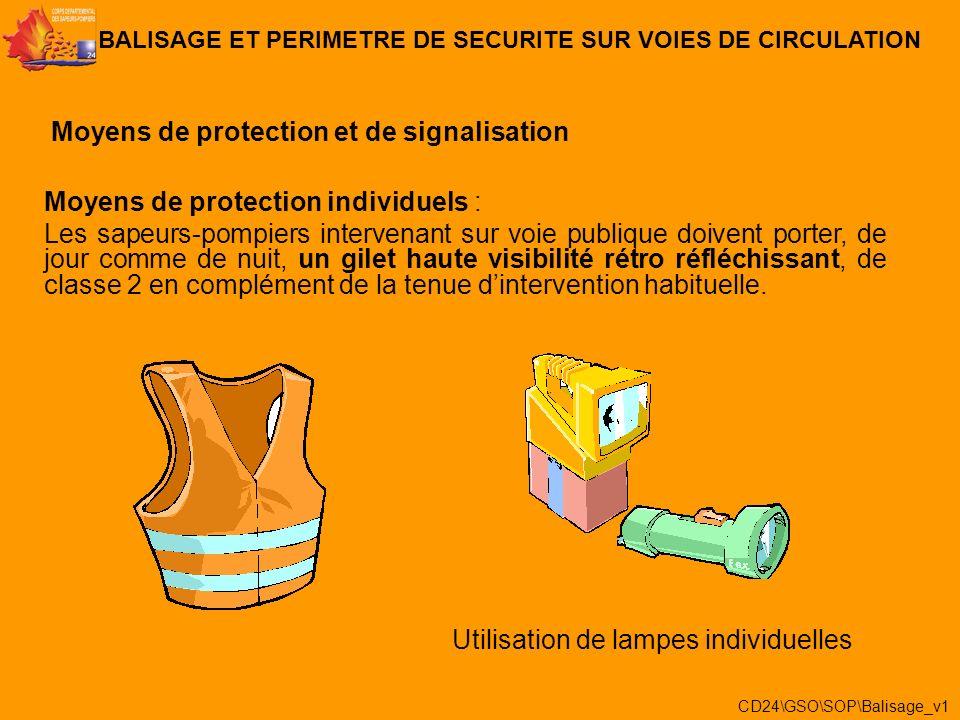 Un balisage est la réalisation dun périmètre de sécurité composé de 2 zones distinctes: -lespace de danger BALISAGE ET PERIMETRE DE SECURITE SUR VOIES