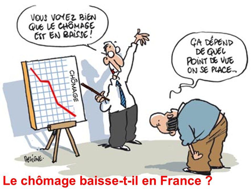 5 Le chômage baisse-t-il en France ?