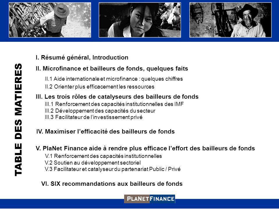 I.Résumé général, Introduction II.