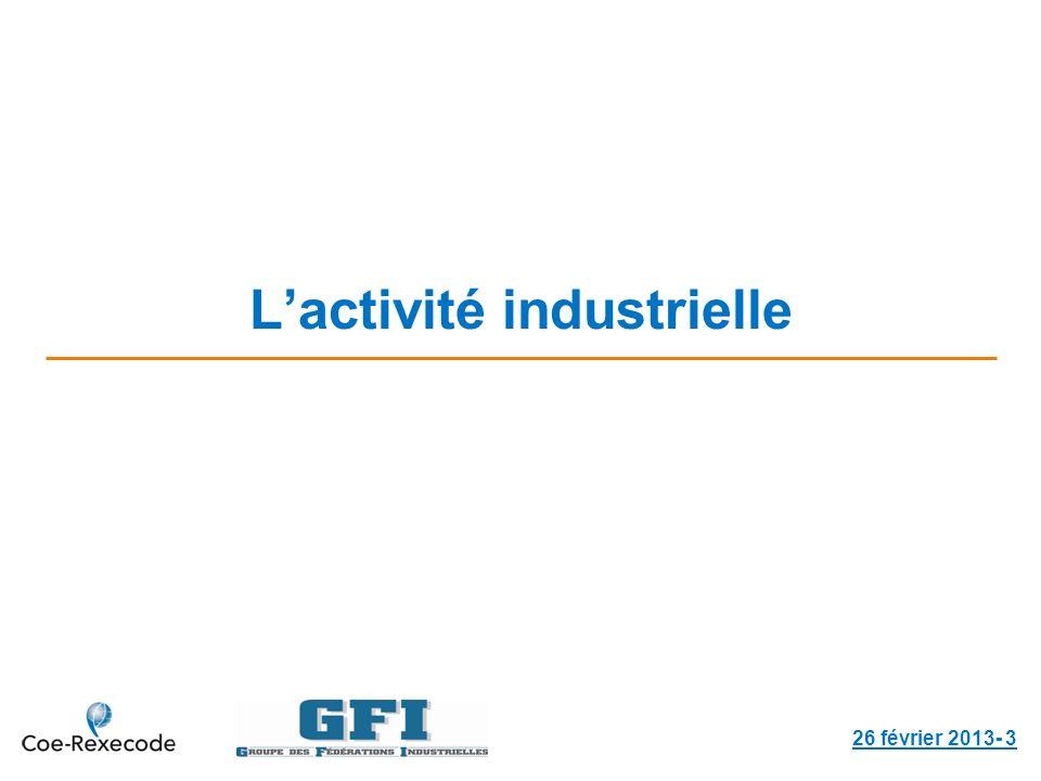 Lactivité industrielle 26 février 2013- 3