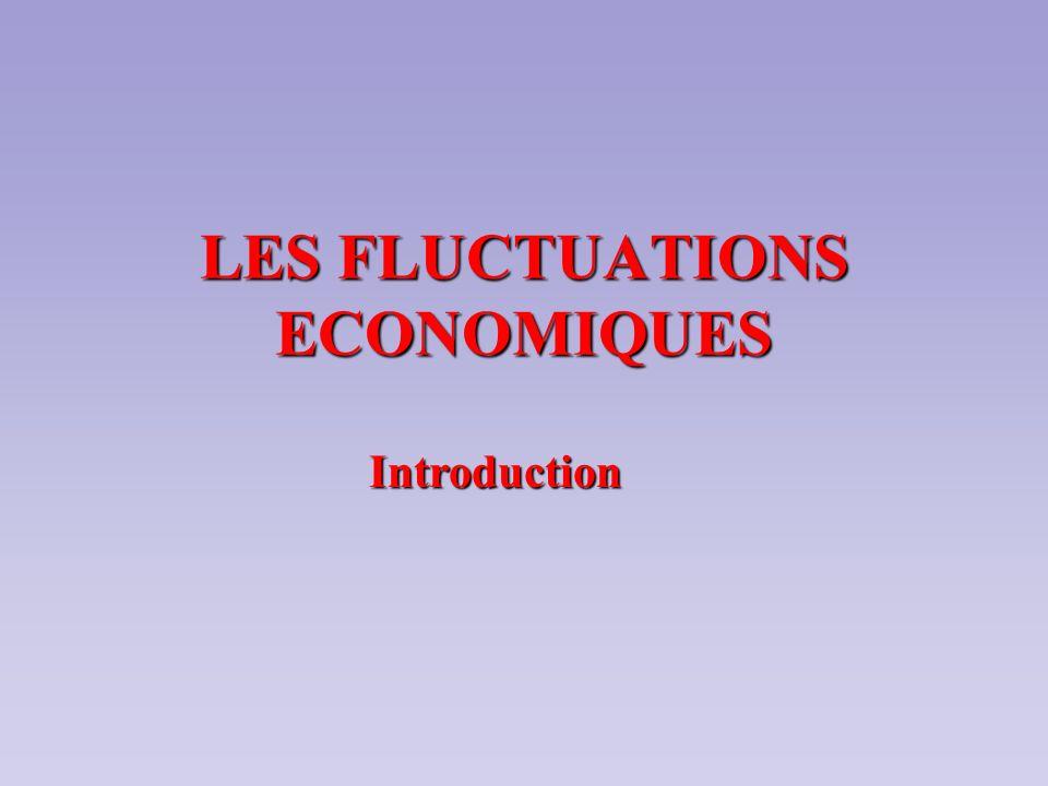 I- Comment définir les fluctuations économiques .