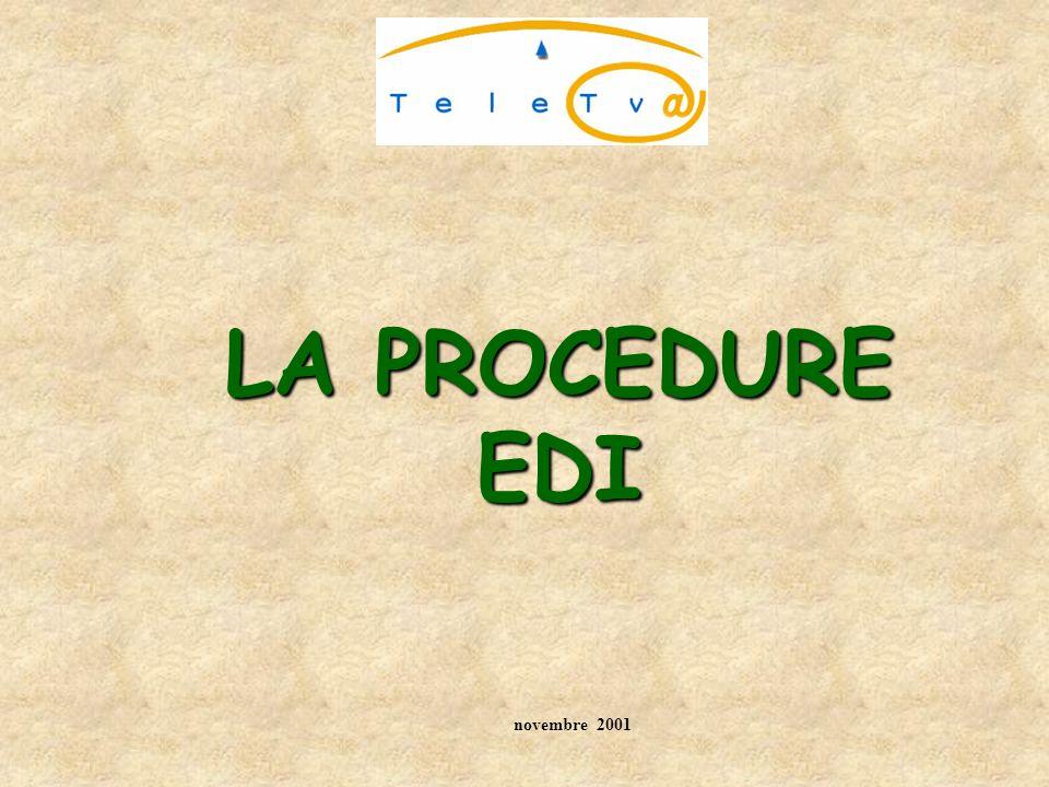 LEDI : Echange de Données Informatisé (BOI 13 K -11-01 §13- 29) Messages structurés selon règles précises, à l origine sectorielle (ex.