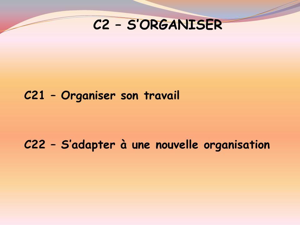 C1 – SINFORMER C11 – Rechercher linformation technique C 12 – Décoder linformation technique