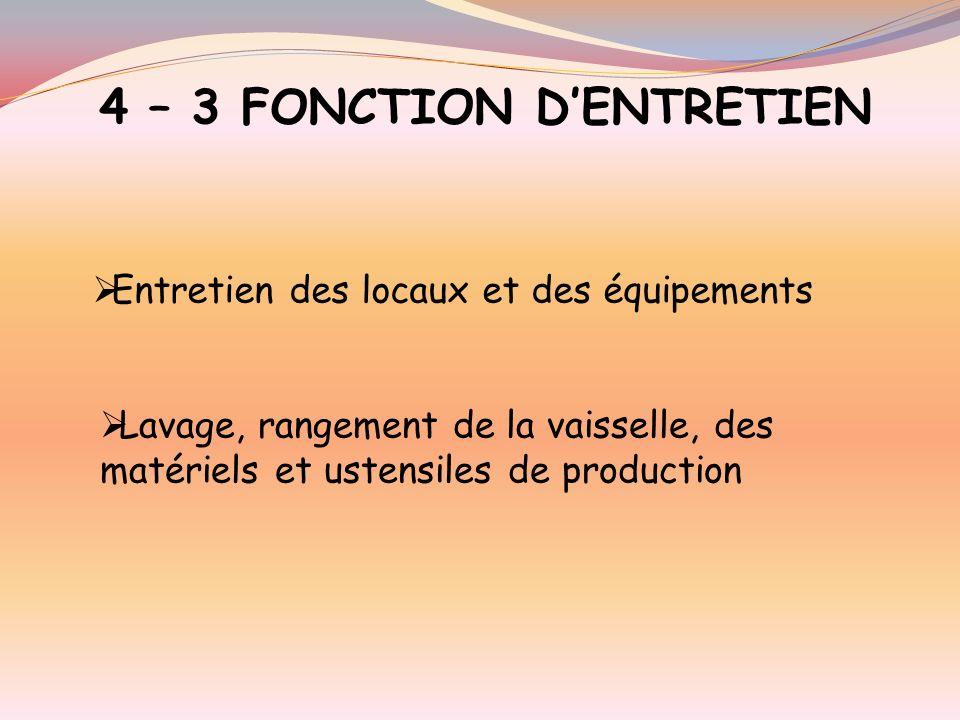 4 – 2 FONCTION SERVICE ET COMMUNICATION Mise en valeur des produits, espaces de distribution et de vente Accueil, information, conseil, service du cli