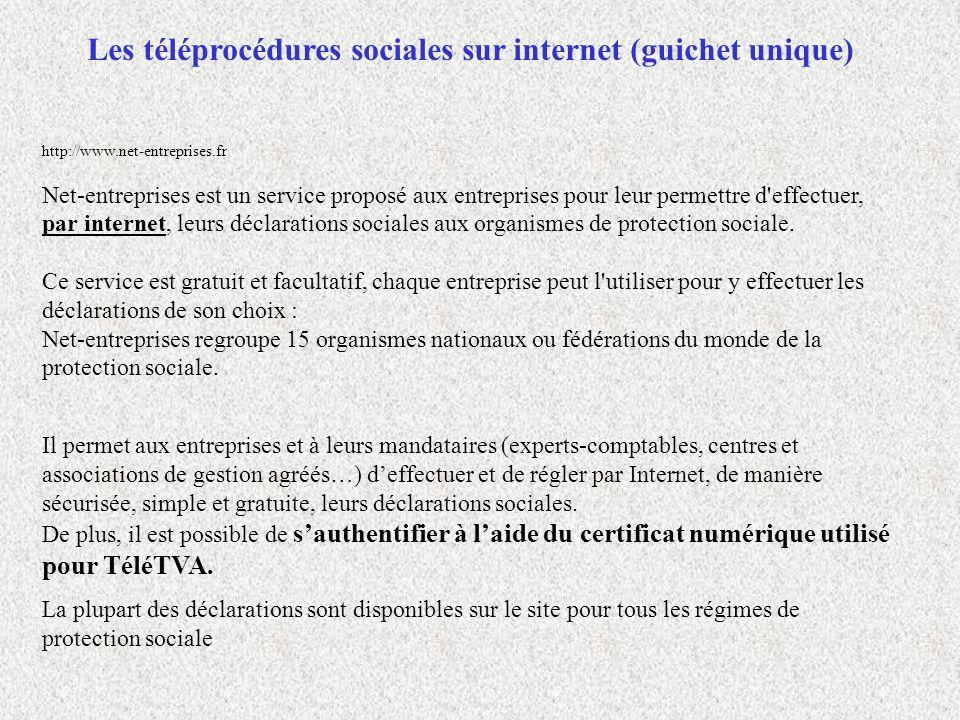 http://www.net-entreprises.fr Net-entreprises est un service proposé aux entreprises pour leur permettre d'effectuer, par internet, leurs déclarations