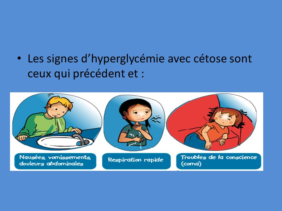 Les signes dhyperglycémie avec cétose sont ceux qui précédent et :