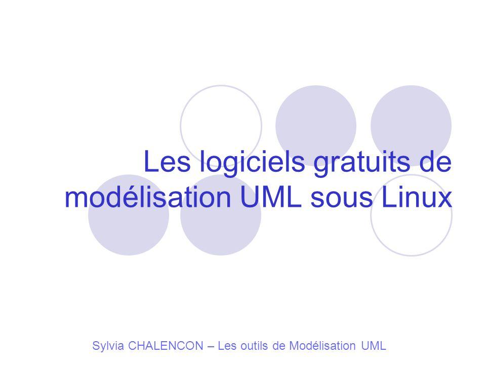 Les logiciels gratuits de modélisation UML sous Linux Sylvia CHALENCON – Les outils de Modélisation UML