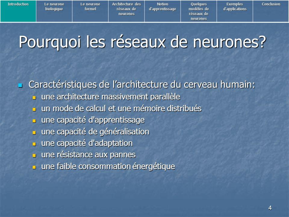 4 Pourquoi les réseaux de neurones.
