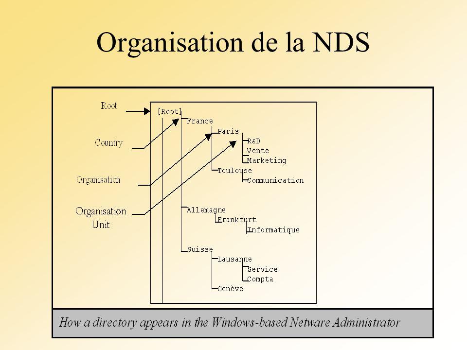 Organisation de la NDS
