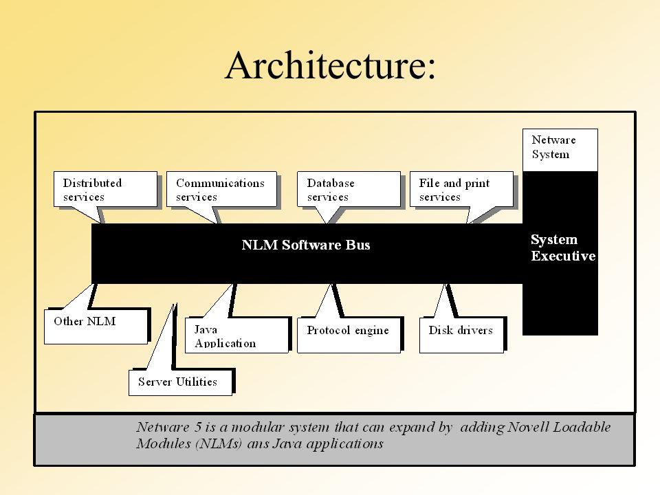 Fonctionnement du noyau File System –amélioration des performances –optimisation de lespace disque –organisation du disque Protection des données –SFT: System Fault Tolerance –protection des données sur le serveur Gestion de la mémoire
