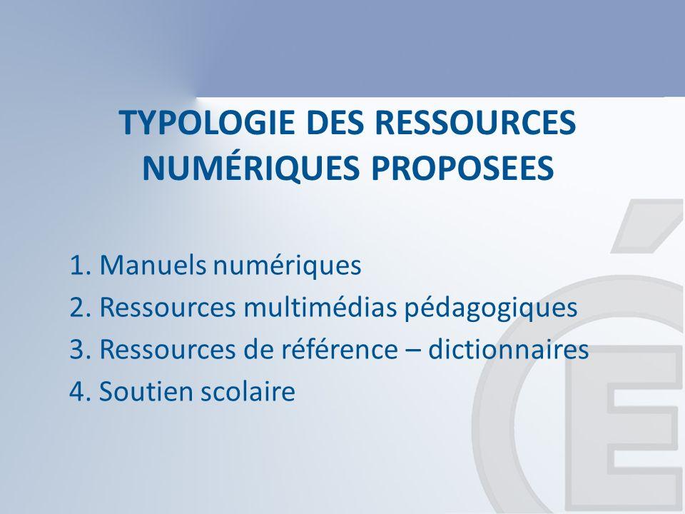 Les manuels : 3 types 1.Manuel numérisé simple : Le plus souvent un manuel papier en version pdf.