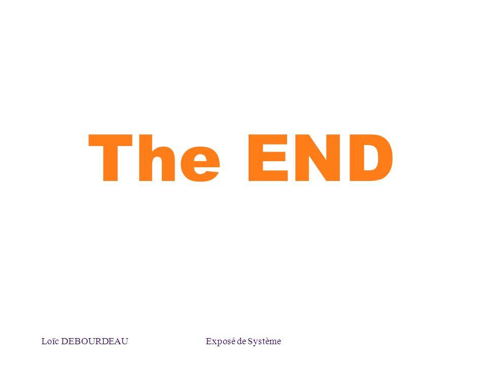 Loïc DEBOURDEAUExposé de Système The END