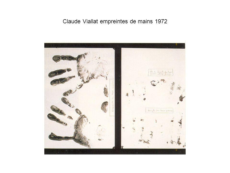 Christian Jaccard, 27-931 1972 Empreintes polychromes d une échelle de corde sur toile écrue Encre d imprimerie sur toile 297 x 212 cm