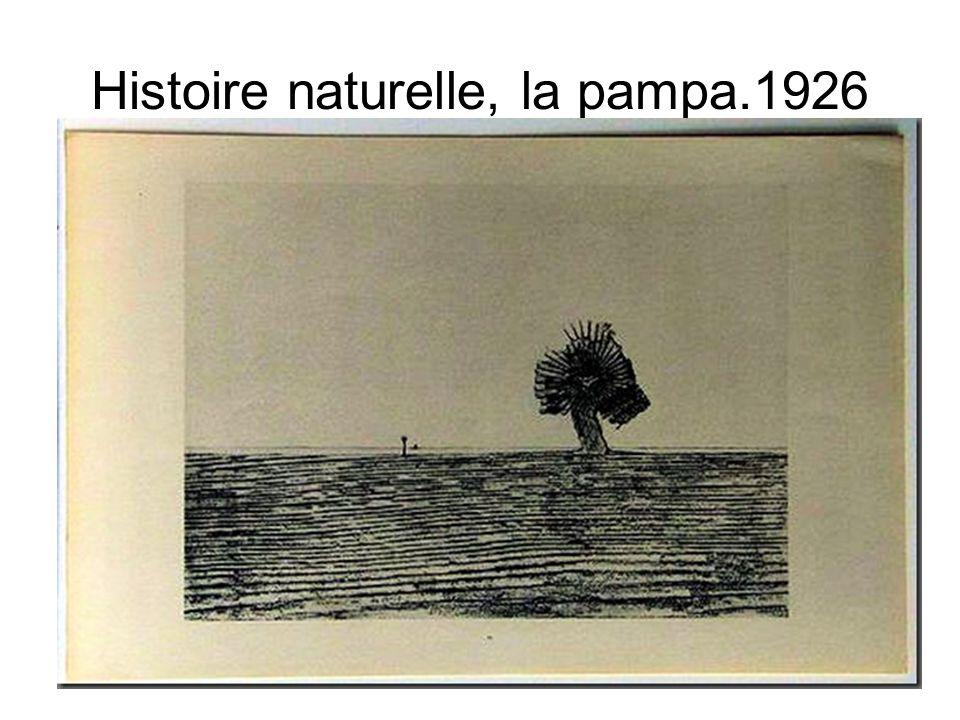 Michaux – frottage 1947