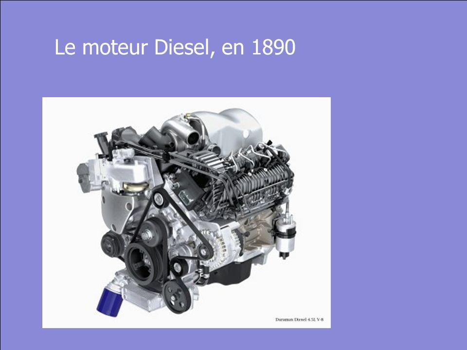 © Cers und Partner 2004 22 Le moteur Diesel, en 1890