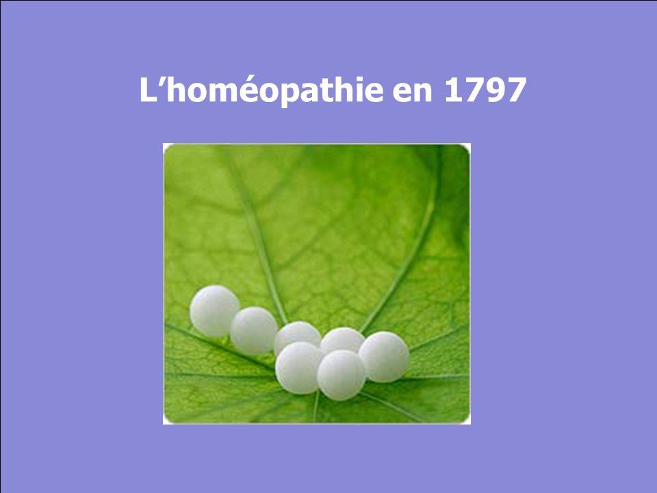 © Cers und Partner 2004 27 Lhoméopathie en 1797