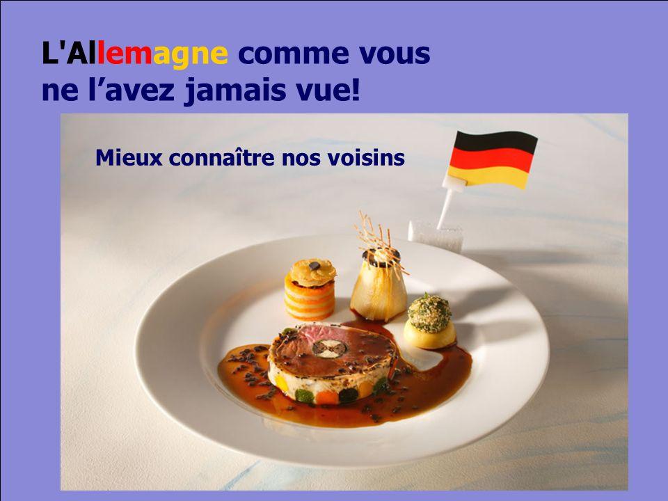 © Cers und Partner 2004 3 Mieux connaître nos voisins L Allemagne comme vous ne lavez jamais vue!