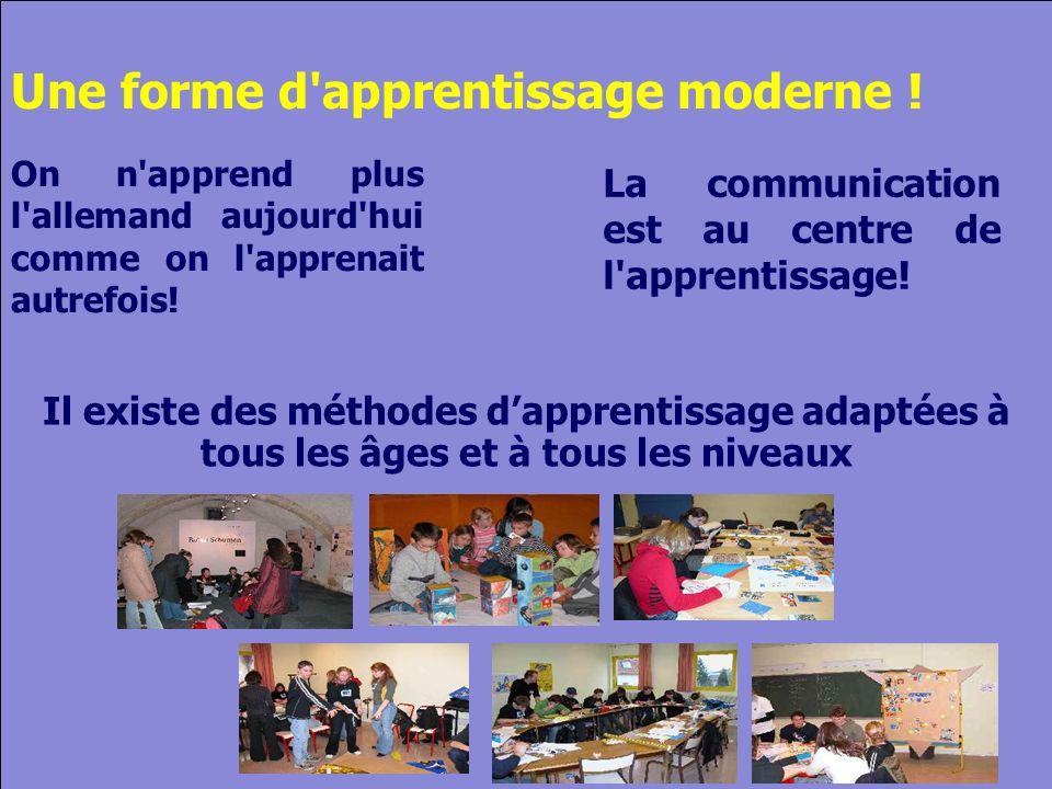 © Cers und Partner 2004 9 Une forme d apprentissage moderne .