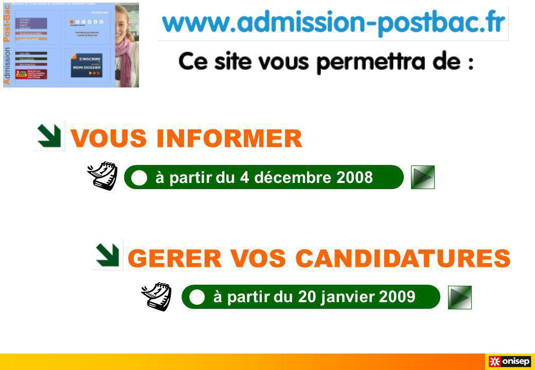 > Le guide du candidat